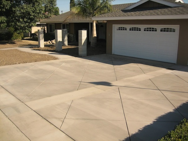 Los Angeles Score Lined Driveways
